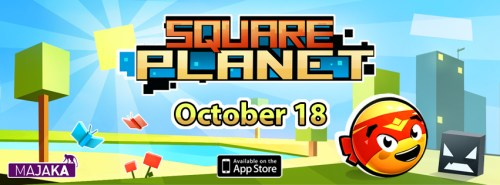 Square Planet - October 18